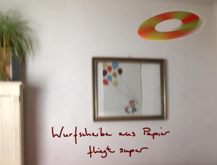 neue anleitung wurfscheibe aus papier basteln basteln. Black Bedroom Furniture Sets. Home Design Ideas